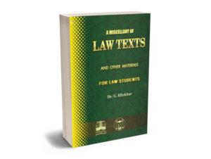 Law Texts